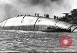 Image of Devastation from Japanese attack on Pearl Harbor Pearl Harbor Hawaii USA, 1941, second 49 stock footage video 65675062272
