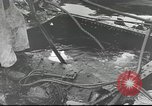 Image of Devastation from Japanese attack on Pearl Harbor Pearl Harbor Hawaii USA, 1941, second 57 stock footage video 65675062272