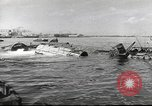 Image of Devastation from Japanese attack on Pearl Harbor Pearl Harbor Hawaii USA, 1941, second 59 stock footage video 65675062272