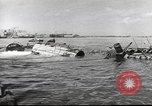 Image of Devastation from Japanese attack on Pearl Harbor Pearl Harbor Hawaii USA, 1941, second 60 stock footage video 65675062272