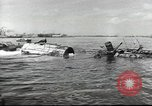 Image of Devastation from Japanese attack on Pearl Harbor Pearl Harbor Hawaii USA, 1941, second 62 stock footage video 65675062272