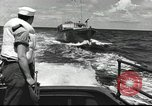 Image of US Navy patrol boat drops depth charges Atlantic Ocean, 1942, second 8 stock footage video 65675062275