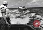 Image of US Navy patrol boat drops depth charges Atlantic Ocean, 1942, second 10 stock footage video 65675062275