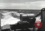 Image of US Navy patrol boat drops depth charges Atlantic Ocean, 1942, second 17 stock footage video 65675062275