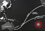 Image of US ocean supply lines to Australia Pacific Theater, 1942, second 35 stock footage video 65675062279