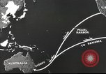 Image of US ocean supply lines to Australia Pacific Theater, 1942, second 36 stock footage video 65675062279