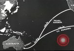 Image of US ocean supply lines to Australia Pacific Theater, 1942, second 37 stock footage video 65675062279