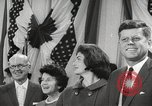 Image of President John F Kennedy United States USA, 1963, second 21 stock footage video 65675062285