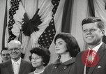 Image of President John F Kennedy United States USA, 1963, second 22 stock footage video 65675062285