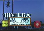 Image of buildings in city Las Vegas Nevada USA, 1960, second 4 stock footage video 65675062290