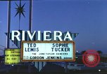 Image of buildings in city Las Vegas Nevada USA, 1960, second 6 stock footage video 65675062290