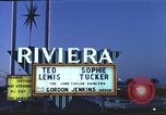 Image of buildings in city Las Vegas Nevada USA, 1960, second 7 stock footage video 65675062290