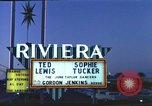 Image of buildings in city Las Vegas Nevada USA, 1960, second 8 stock footage video 65675062290
