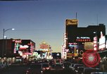 Image of buildings in city Las Vegas Nevada USA, 1960, second 20 stock footage video 65675062290