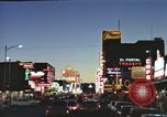 Image of buildings in city Las Vegas Nevada USA, 1960, second 21 stock footage video 65675062290