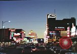 Image of buildings in city Las Vegas Nevada USA, 1960, second 22 stock footage video 65675062290