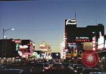 Image of buildings in city Las Vegas Nevada USA, 1960, second 23 stock footage video 65675062290