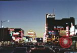 Image of buildings in city Las Vegas Nevada USA, 1960, second 25 stock footage video 65675062290