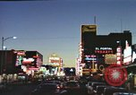 Image of buildings in city Las Vegas Nevada USA, 1960, second 26 stock footage video 65675062290