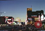 Image of buildings in city Las Vegas Nevada USA, 1960, second 27 stock footage video 65675062290