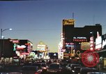 Image of buildings in city Las Vegas Nevada USA, 1960, second 30 stock footage video 65675062290