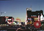 Image of buildings in city Las Vegas Nevada USA, 1960, second 31 stock footage video 65675062290