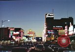Image of buildings in city Las Vegas Nevada USA, 1960, second 32 stock footage video 65675062290