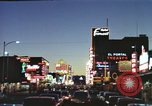 Image of buildings in city Las Vegas Nevada USA, 1960, second 33 stock footage video 65675062290
