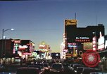 Image of buildings in city Las Vegas Nevada USA, 1960, second 34 stock footage video 65675062290