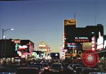 Image of buildings in city Las Vegas Nevada USA, 1960, second 35 stock footage video 65675062290
