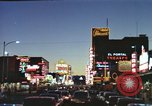 Image of buildings in city Las Vegas Nevada USA, 1960, second 37 stock footage video 65675062290