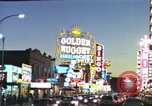 Image of buildings in city Las Vegas Nevada USA, 1960, second 40 stock footage video 65675062290