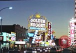 Image of buildings in city Las Vegas Nevada USA, 1960, second 41 stock footage video 65675062290