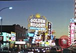 Image of buildings in city Las Vegas Nevada USA, 1960, second 42 stock footage video 65675062290