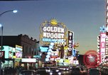 Image of buildings in city Las Vegas Nevada USA, 1960, second 43 stock footage video 65675062290