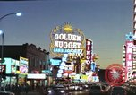 Image of buildings in city Las Vegas Nevada USA, 1960, second 45 stock footage video 65675062290