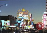 Image of buildings in city Las Vegas Nevada USA, 1960, second 46 stock footage video 65675062290