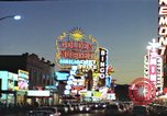Image of buildings in city Las Vegas Nevada USA, 1960, second 47 stock footage video 65675062290