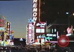 Image of buildings in city Las Vegas Nevada USA, 1960, second 50 stock footage video 65675062290