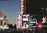Image of buildings in city Las Vegas Nevada USA, 1960, second 51 stock footage video 65675062290
