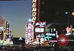 Image of buildings in city Las Vegas Nevada USA, 1960, second 52 stock footage video 65675062290