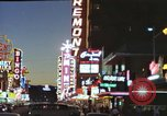 Image of buildings in city Las Vegas Nevada USA, 1960, second 53 stock footage video 65675062290