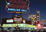 Image of buildings in city Las Vegas Nevada USA, 1960, second 59 stock footage video 65675062290