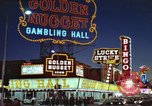 Image of buildings in city Las Vegas Nevada USA, 1960, second 61 stock footage video 65675062290