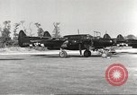 Image of P-61 Black Widow France, 1944, second 16 stock footage video 65675062292