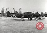 Image of P-61 Black Widow France, 1944, second 17 stock footage video 65675062292