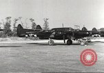 Image of P-61 Black Widow France, 1944, second 18 stock footage video 65675062292