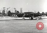 Image of P-61 Black Widow France, 1944, second 19 stock footage video 65675062292