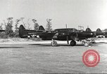 Image of P-61 Black Widow France, 1944, second 20 stock footage video 65675062292
