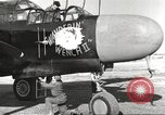 Image of P-61 Black Widow France, 1944, second 23 stock footage video 65675062292
